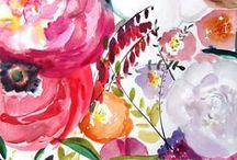 All Things Floral / Yes, please! Wear it, hang it, walk on it or eat on it!