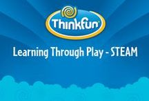 Learning through play—STEAM / Have your little tyke learn about Science, Technology, Engineering, Art and Math through games, toys and activities!