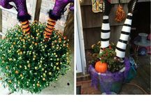 Tricky Treats / Outdoor Halloween Decorations!