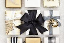 Christmas wrapping ideas / Its not about reviving!  So true when your presenting a gift that looks like this!  Make that tree even more magical by covering the base with any one of these amazing gift wrapping ideas.