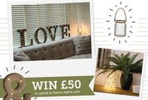 """Pin It To Win It: Winter Living / Win £50 to spend at Festive-lights.com!  •Create a new board called """"festive lights winter living"""".  •Go to Festive-lights.com. •Pin 10 things from our website that would warm up your home this winter onto your new board. •Follow us on Pinterest.  •Send us a link to your new board to marketing@festive-lights.com.   Full terms and conditions at festive-lights.com/competition-terms-and-conditions  THIS COMPETITION IS NOW CLOSED"""