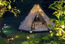 Glamping / At Festive Lights we don't Camp... we Glamp! Take a scroll and see all our top tips and inspiration for your next #Glamping expedition.