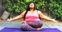 Fat Yoga / Yoga for plus size people