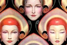 Vintage Treasures - Art Deco / There's always the Jazz in every picture. The sound of the Art Deco era.