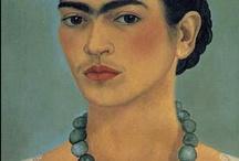 Viva la Frida! / Got to love Frida. Large than Life.