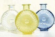 Vintage Finnish Glass / Glass designs from 1940-1980's made in Finland by Iittala, Riihimäen lasi, Humppilan lasi, Kumela and Nuutajärven lasi.