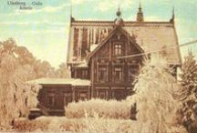 Vintage Treasures - Manmade Beauty / Old pictures of vintage houses and house plans.