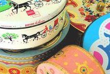 Vintage Treasures - Tin Mania /  I love Vintage Tins.  / by Päivi Laakso
