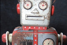 Vintage Treasures - Let's play! / Vintage (or not) Tin Toys.