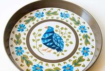 Vintage Treasures - Tin for Everything / Carry it with a Vintage Tin Tray.