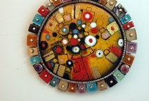Enamelled / Jewelry with Enamel and enchanted Beauty
