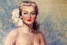 Vintage Pin Up's / by Brocantehome