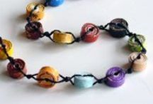 More Beads, please!  / Gorgeous Beads made of paper, felt, wood, ceramics and other materials. Simply got to have them all!!!
