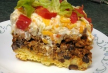 In The Oven You Go / A board full of yummy casseroles and such! / by Michelle Dunham