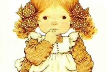 As a Little Girl / Sarah Kay illustrations. So many memories from my childhood.