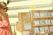 Craft Fair Booth ideas / Inspiration and tutorials for Trade Show and Craft Show Displays.  / by Bunny Bear Press (Adina Segal)