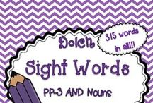 School Related-Sight Words