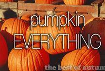 Eat All The Pumpkin / Pumpkin anything and pumpkin everything... / by Michelle Dunham
