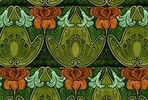 Vintage Prints / Loving Art Nouveau and Art Deco Designs.