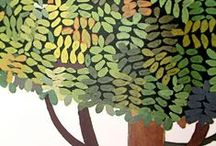 Together We are Forest / Illustrated Trees. Trees in Art.