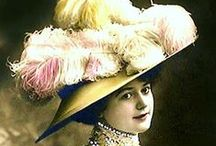 A Bad Hair Day? / No worries. You can always wear a hat!  Love of vintage hats.