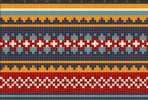 Knitting Charts and Technics / Love mitten patterns <3