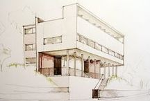Architectually / Floorplans. Architecture designs. Sketchings.