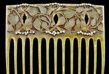 The Haircombs for Ladies / Vintage haircombs. Specially Art Nouveau era.