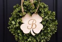 ST. PATRICK'S DAY / Amazing ideas to inspire you for St. Patrick's Day.