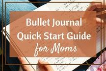 Bullet Journal How To / bullet journals, planners, planning, organizing, bujo, bullet journalists, journals, daily productivity, planning for moms, planner, bullet journal