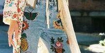 Trend to Watch: Embroidered Denim