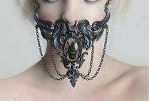 Extreme Adornment / High fashion, fetish, goth chic jewellery and style : wearable art