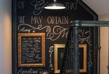 Chalk Boards / by Marcy Kaminski