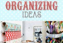 Everything In Its Place Organization / Organizing you, and your home  in crafty ways.
