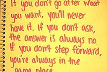 quotes / by Nicki Allevato