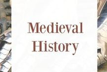 Medieval History / medieval history, studying medieval history, medieval history resources, homeschool history, the middle ages, studying the middle ages, knights, history books, history printables