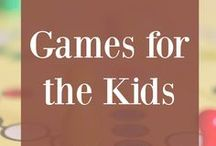 Games for the Kids / Games for the kids, game ideas, family game night, best games for kids, family games, games for families, top games for kids, favorite kid games, favorite games for kids, favorite games for families