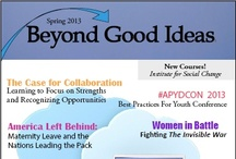 Beyond Good Ideas Magazine / An online magazine published in 2013 from the SISGI Group with stories, strategies and individuals focused on lasting social change.
