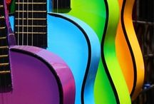 Guitars instruments music ❤