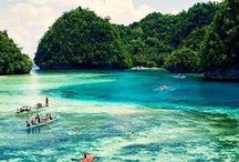 Philippines Travel Inspiration / Travel Philippines! In this board you'll find all you need to plan your trip: places to visit, top vacation destinations, tips, beach recommendations, food and budgeting advice. Featuring Cebu, Palawan, Manila, Bocaray, Baguio and more beautiful islands in the Philippines.