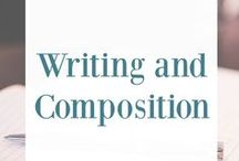 Writing and Composition / writing, writing journal, teaching writing, homeschool writing, composition, teaching composition, how to teach writing, composition for homeschool, writing curriculum, writing prompts, writing journal prompts, writing ideas, composition curriculum