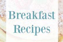 Breakfast Recipes / Breakfast food recipes, breakfast recipes, pancake recipes, muffin recipes, overnight oatmeal, overnight oats, baked oatmeal recipes, waffle recipes, scone recipes, breakfast casseroles, breakfast ideas, quick breakfast ideas