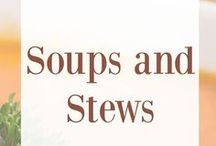 Soups and Stews / Soup recipes, soup ideas, best winter soups, cold weather meals, stew recipes, best stew recipes, one pot meals, best soup recipes, soups and stews, hearty stew recipes