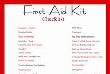 First Aid Kits / by Rosemary Clist