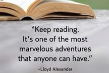 Reading / Reading is dreaming with open eyes.
