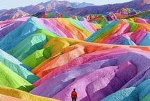 Surreal Places to Visit / Strange destinations, psychedelic landscapes, and places you never would have dreamed existed! This board is full of photos and articles about the most surreal places around the world.