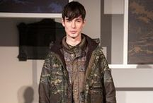 Barbour at London Collections: Men / For the first time at London Fashion week, Barbour showcased key looks from the Heritage Tweed and Core essentials collections, alongside the second season of a collaboration with White Mountaineering.  / by Barbour