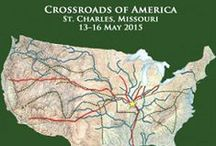 NGS 2015 At The Crossroads of America / The National Genealogical Society's 2015 Family History Conference will be held in St. Charles Missouri May 13-16, 2015. See you there! #NGS2015GEN