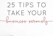 Small Business Resources | Tips Tricks & Tactics / A collection of small business advice, tips, tricks and tactics to help the solopreneuer, entrepreneur and small business woman thrive in today's fast moving marketplace.