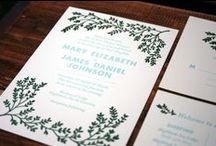 MACON YORK: Wedding Invitations / Macon York is a graphic designer and letterpress printer, specializing in original, elegant letterpress wedding invitations.